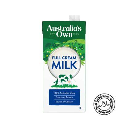 Australia's Own Milk A1 Full Cream 1L
