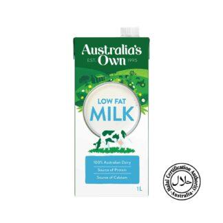 Autralia's Own Milk A1 Low Fat 1L