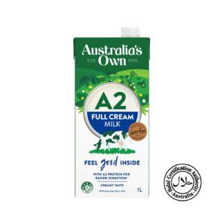 Australia's Own Milk A2 Full Cream 1L