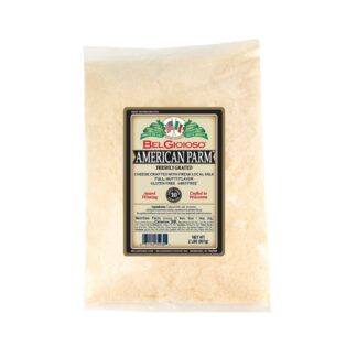 Belgioioso Grated American Parmesan Cheese Bag Food Service