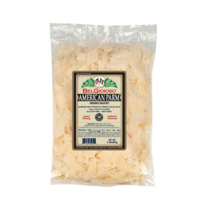 Belgioioso Shaved American Parmesan Bag Food Service