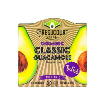 Freshcourt Organic Classic Guacamole 170g