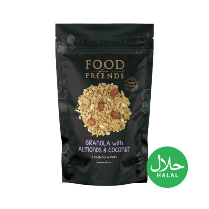 Food for Friends Trail Mix Granola with Almond Coconut 120g