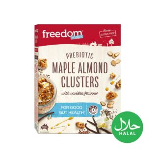 Freedom Foods Maple Almond Clusters 360g