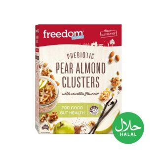 Freedom Foods Pear Almond Clusters 360g