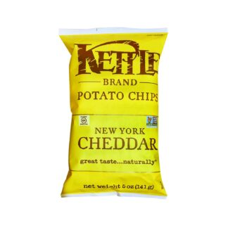 Kettle Chips New York Cheddar with Herbs 141g