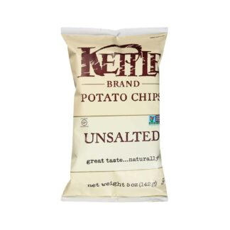 Kettle Chips Unsalted 142g