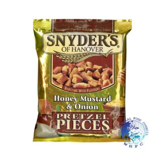 Snyder's of Hanover Honey Mustard Onion Pretzels 125g