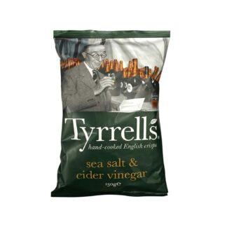 Tyrell's Sea Salt Cider Vinegar 150g