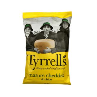 Tyrell's Mature Cheddar Chive 150g