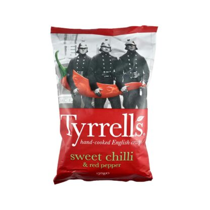 Tyrell's Sweet Chilli and Red Pepper 150g