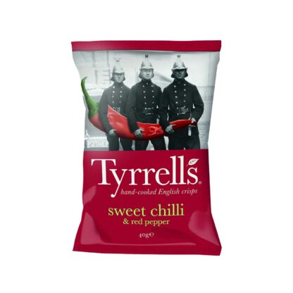 Tyrell's Sweet Chilli and Red Pepper 40g