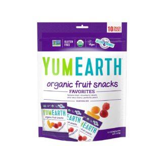 YumEarth Fruit Snacks 10 packs 198g