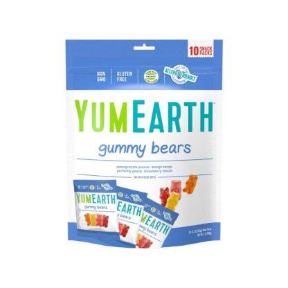 YumEarth Gummy Bears 10 packs 198g