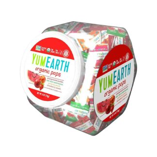 YumEarth Organic Lollipops Personal Bin Assorted 170g