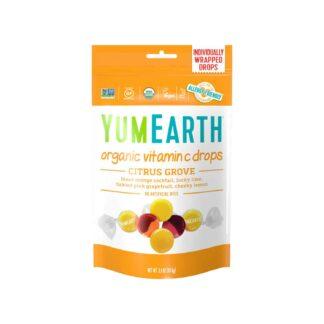 YumEarth Vitamin C Citrus Grove Organic Drops 93.6g
