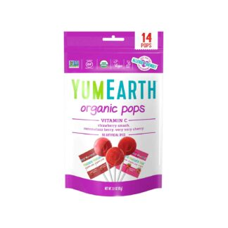 YumEarth Vitamin C Organic Lollipops 87g