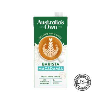 Australia's Own Barista Macadamia 1L