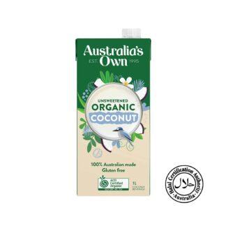 Australia's Own Organic Coconut Milk Unsweetened 1L