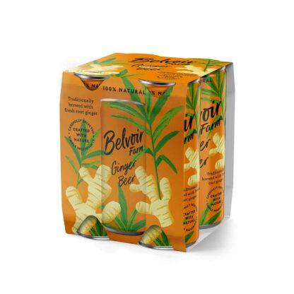 Belvoir Ginger Beer Can 4pack