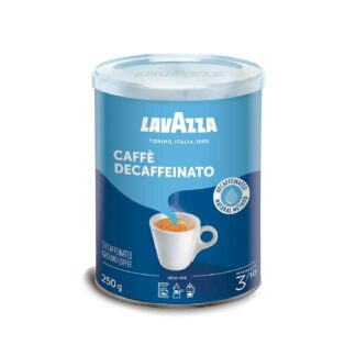 Lavazza Caffe Decaffeinato Grouund Coffee Tin 250g
