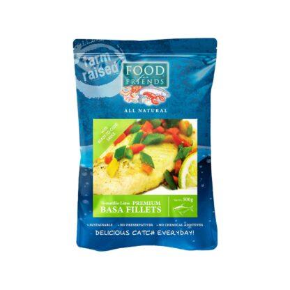 Food for Friends Farm Raised Seafood Premium Basa Fillet Tomato Lime