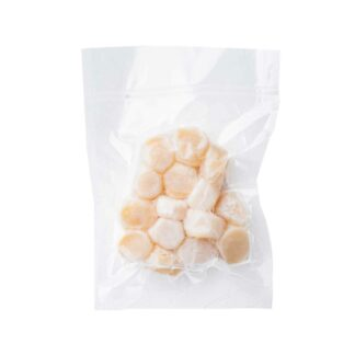 Food for Friends Natural Dry Atlanic Sea Scallop 5lbs