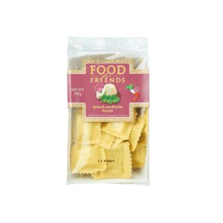 Food for Friends Spinach and Ricotta Ravioli 250g