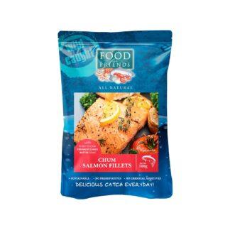 Food for Friends Wild Caught Seafood Chum Salmon Fillet Tarragon Lemon Butter