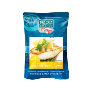 Food for Friends Wild Caught Seafood Pacific Cod Fillet Orange Soy Glaze