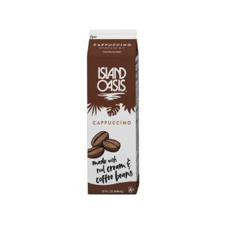 Island Oasis Cappuccino Frozen Beverage Mix 946mL