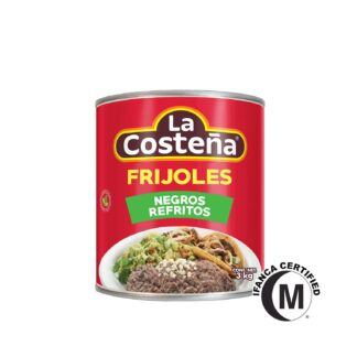 La Costena Frijoles Refried Black Beans 3kg