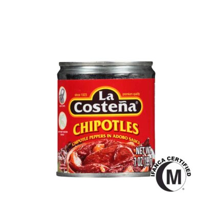 La Costena Chipotle Peppers in Adobo Sauce in Can 199g