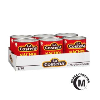 La Costena Chipotle Peppers in Adobo Sauce in Can 2.8kg