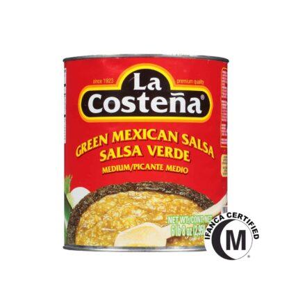 La Costena Green Mexican Salsa in Can 2.9g