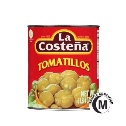 La Costena Green Tomatillos in Can 2.8kg