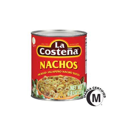 La Costena Nacho Sliced Jalapeno Pepper in Can 2.8kg