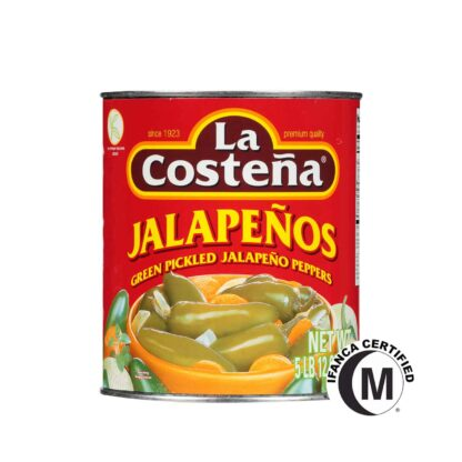 La Costena Whole Jalapeno Peppers in Can 2.8kg
