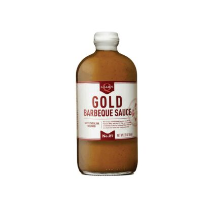 Lillie's Q Gold Barbecue Sauce No.27 South Carolina Mustard 567g Glass Bottle
