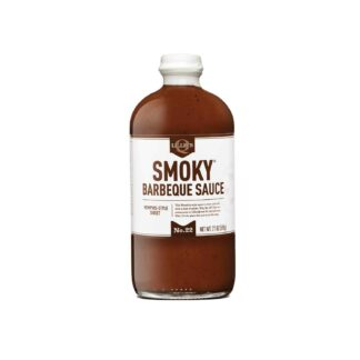 Lillie's Q Smoky Barbecue Sauce No.22 Memphis Style Sweet 595g Glass Bottle