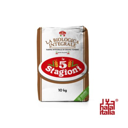 Le 5 Stagioni Organic Whole Wheat 10kg