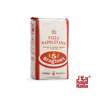 Le 5 Stagioni Pizza Napoletana Italian 00 Soft Wheat Flour 1kg