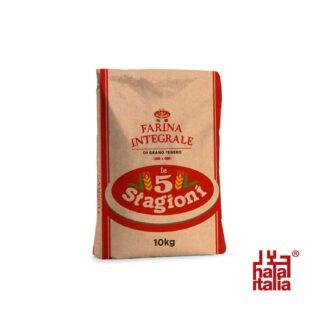 Le 5 Stagioni Whole Wheat Flour Fine 10kg