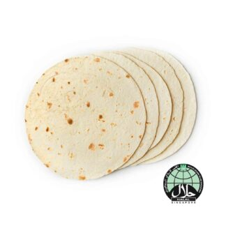 Mission Flour Tortilla 8in 496g