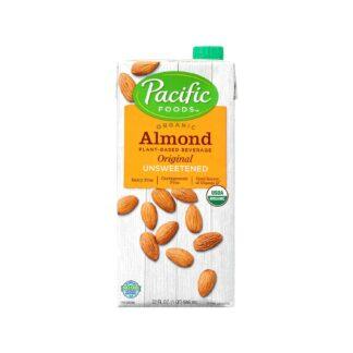 Almond Breeze Organic Unsweetened Almond Original 946mL