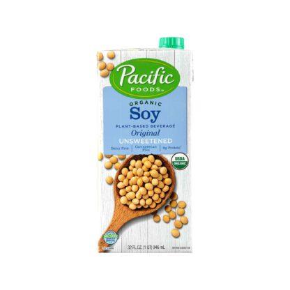 :acific Foods Organic Unsweetened Soy Original 946mL