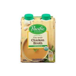 Pacific Foods Organic Free Range Chicken Broth Low Sodium 960ml 4ss