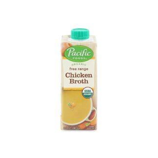 Pacific Foods Organic Free Range Chicken Broth 240ml