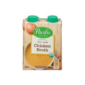 Pacific Foods Organic Free Range Chicken Broth 960ml 4ss
