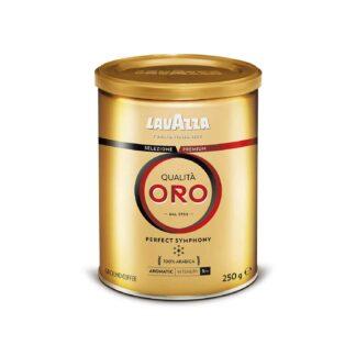 Lavazza Qualita Oro Ground Coffee Tin 250g